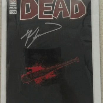 The Lucille Cover To Walking Dead #100