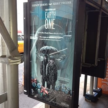 A Batman Earth One Poster Ad Spotted In The Wild