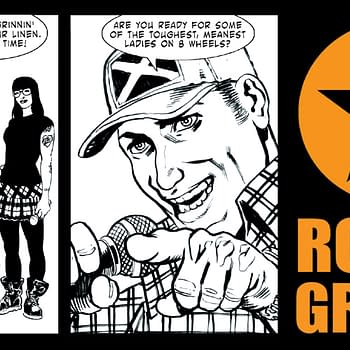 Gary Erskine Brings Us The Roller Grrrls