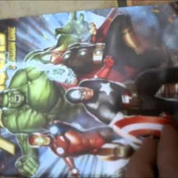 Unboxing Avengers DVD And Season One Graphic Novel