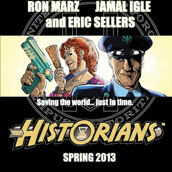 Jamal Igle And Ron Marz Exit The Historians