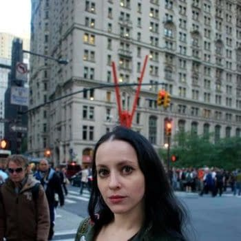 Molly Crabapple Arrested During Occupy Wall Street Anniversary Protest