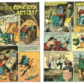 And Finally: Marie Severin's How To Be A Comic Book Artist