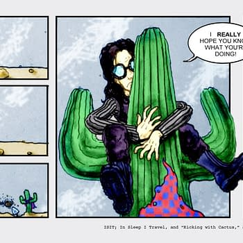 Kicking With Cactus #16 by Chad Hindahl