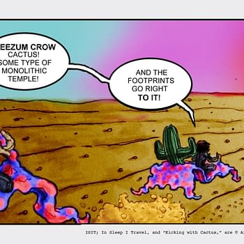 Kicking With Cactus #19 by Chad Hindahl