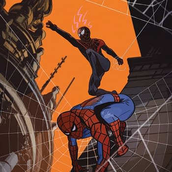Tommy Lee Edwards Variant Cover For Spider-Men #5 For Dublin Comic Con