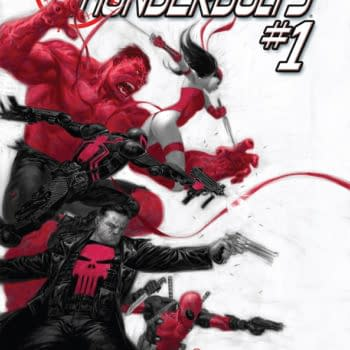 Red Hulk Stars In Thunderbolts #1 From Marvel NOW, Daniel Way And Steve Dillon