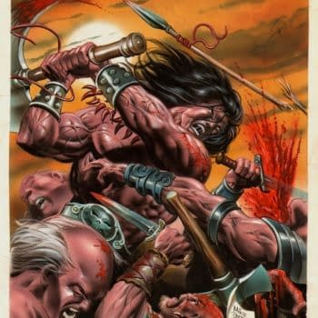 STOLEN: Nine Mike Deodato Conan Paintings