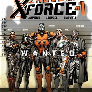 MarvelNOW Launches Cable And X-Force With Dennis Hopeless And Salvador Larroca