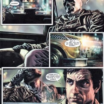 Robert De Niro's Taxi Driver Picks Up Rorschach In Before Watchmen