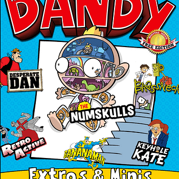 A Look At The New Digital Dandy &#8211 With A Free Zero Issue