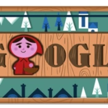 The Google Doodle Red Riding Hood Comic Book For Christmas