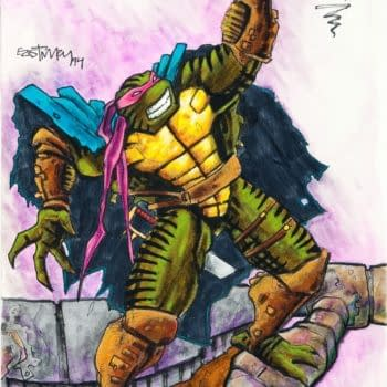 Turtles XTREME! Kevin Eastman's Concept Art For Unmade 4th Turtle Movie