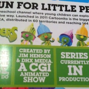 JIm Henson's Doozers – Fraggle Rock Spinoff For 2014 Seen In The Wild