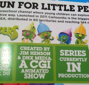 JIm Hensons Doozers &#8211 Fraggle Rock Spinoff For 2014 Seen In The Wild