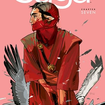 As Issue Seven Sells Out Image Decides To Stop Reprinting Comics Like Saga