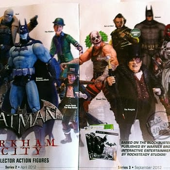 The Top Fifty Toys And Top Fifty Games Sold In Comic Stores In 2012