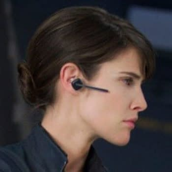 Cobie Smulders as Marie Hill of SHIELD in Avengers