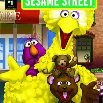 Sesame Street Launches Its First Comic With Six Issues… And A Hardcover?