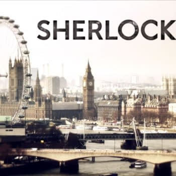 Steven Moffat And Mark Gattis Decide Who Gets To Go To SDCC Sherlock Panel In Cute Skit