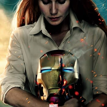 Iron Man 3 Images &#8211 New Pepper Potts Poster And Tony Stark Portrait