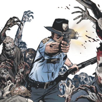 Michael Golden's New Cover To Free Walking Dead #1 At Wizard World Shows