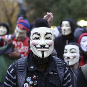 NOVEMBER 5 2014: Anonymous & Stop Mass Incarcerations Network held a Million Mask March & Rally that started in Union Square & marched to Columbus Circle by way of Times Square