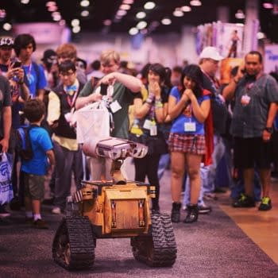 The Real Wall-E At WonderCon