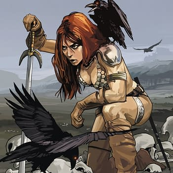 Gail Simone To Write Red Sonja For Dynamite. And Here Are The Fiona Staples Nicola Scott And Colleen Doran Covers.