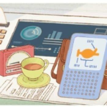 Douglas Adams Gets Google Doodled On His 61st Birthday