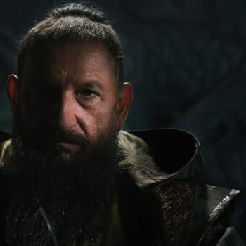 Drew Pearce Respects The Queen In The All Hail The King Commentary