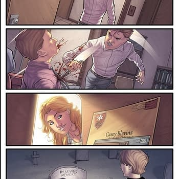 Morning Glories #26 To Be Replaced Over Wrong Page
