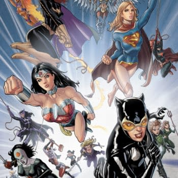 Now The Women Of DC Comics Get More Than Two Pages. They Get A Whole Box!