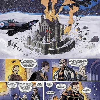 The First Seven Pages Of Captain Midnight #1