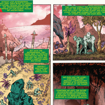 The Red Planet Really Is A Red Planet In The New 52