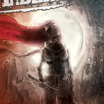 Ben Templesmith's Cover To Liberator #3
