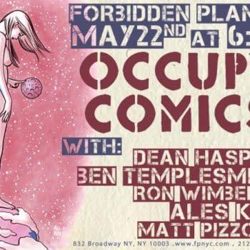 When Occupy Comics Occupied Forbidden Planet, New York