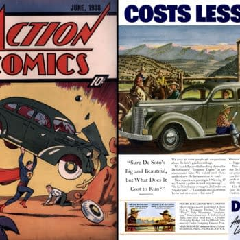 The Car On The Cover Of Action Comics #1 Might Be A 1937 DeSoto (But That's Just Part Of The Story)