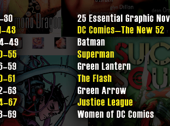The Women Of DC Comics. In Two Pages.