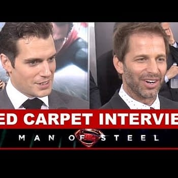 Man Of Steel Red Carpet: Henry Cavill Zack Snyder Kevin Costner DC Cinematic Universe Talk And More