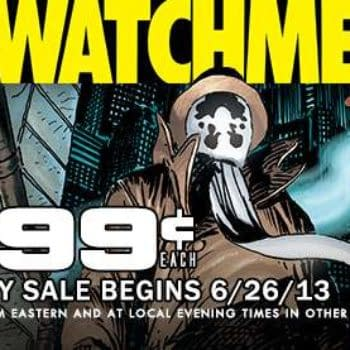The Complete Watchmen For $11.88 On ComiXology