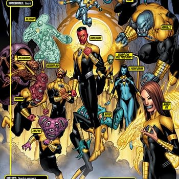 DC Comics To Publish New Sinestro Corps Ongoing &#8211 Making It The Sixth Green Lantern Monthly Comic