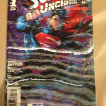 Superman Unchained #1 3D Variant &#8211 Look For Yours On eBay (VIDEO UPDATE)