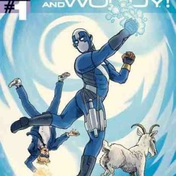 Cover Variance: Tony Millionaire Draws Quantum And Woody (And Goat) For San Diego Comic Con