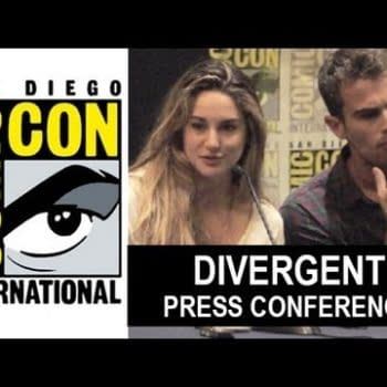 Divergent SDCC Panel Video With Shailene Woodley, Theo James, Neil Burger, And Veronica Roth