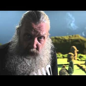 Friday. 4.30pm. What Better Time To Meet Alan Moore?