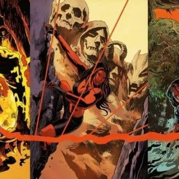 Francavilla Shares Red She-Hulk Interlocking Covers