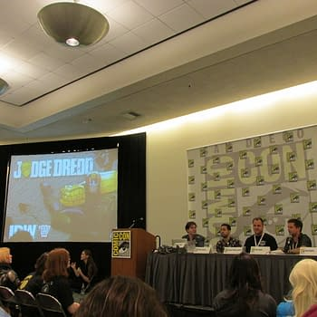 Judge Dredd/2000AD Are Taking over the World by Autumn According to SDCC