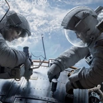 Sandra Bullock Struggles To Detach In This Clip From Alfonso Cuaron's Gravity