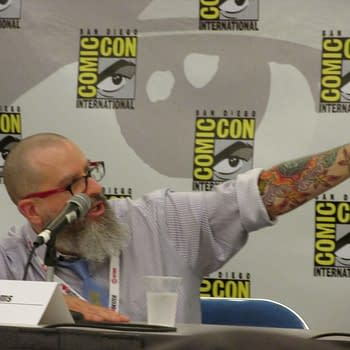 Raw Sandman Art And How The Hell Are We Going To Read Promethea? JH Williams Is All That Rock And Roll At SDCC
